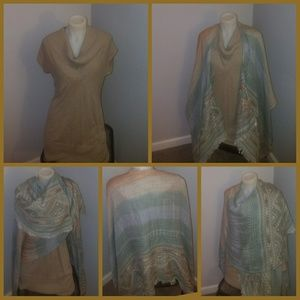 Sweater & shawl bundle CLEARANCE FREE